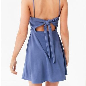 UO tie-back mini dress